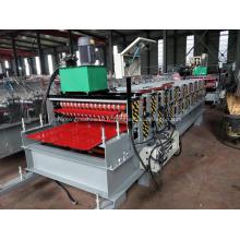 Machine de formage de rouleaux double couche pour toiture en tôle
