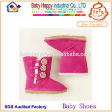 Chaussures d'hiver pour enfants 2014 les plus chaudes Import de Chine