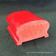 La superficie suave de la barandilla Hs-6540 del porche del PVC muchos colores disponibles interiores y el uso al aire libre
