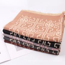 Hot Selling Fashion Unique Design Blanket Pashmina  Scarf Shawl Winter Outdoor Cashmere Wraps Scarves
