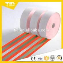 Ciclos de lavagem industriais resistentes resistentes da tela 50 da chama do vermelho alaranjado