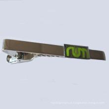 Clipe de laço de metal niquelado personalizado (GZHY-LDJ-002)