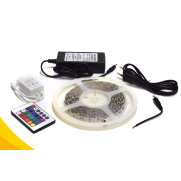 5050 RGB LED Mood Lighting Screen Kit de luces