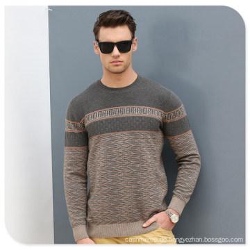 2017 neue Stil 100% Kaschmir Mann Pullover Puyuan China