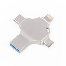 Unidad flash USB 4 en 1 para Iphone