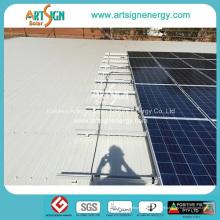 Le support solaire en aluminium anodisé monte le support de cadre de panneau solaire