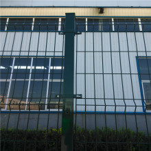 Panel bersalut PVC Welded Curvy Wire Mesh Panel