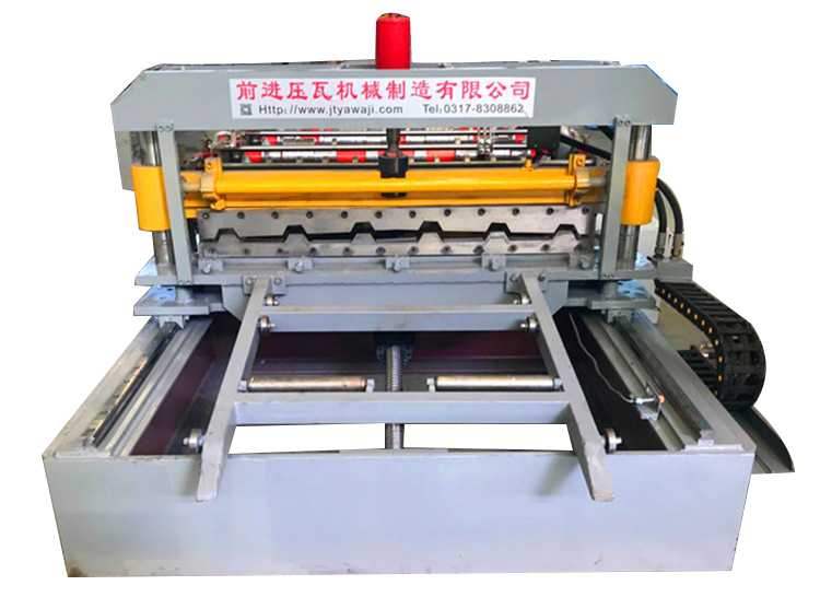 Customized Thickness Metal Sheet Curve Long Roof Span Roll Forming Machine
