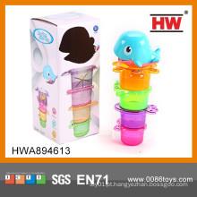 Brinquedo encantador eco-friendly do jogo do banho do bebê