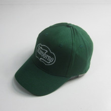 Vuxen Green 6 Panel Broderi Baseball Cap