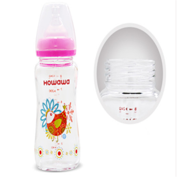240ml Wide Neck Glass Bottle Baby Milk Bottle