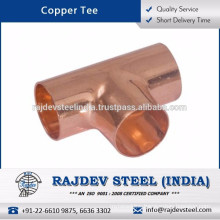 Superior Quality Long Lasting Copper Tee at Affordable Market Price