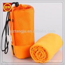 Toalla de gimnasia deportiva de viaje de microfibra de secado rápido con bolsa de malla Toalla de gimnasia deportiva de viaje de microfibra de secado rápido con bolsa de malla