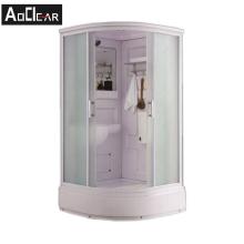 Aokeliya modern style bathroom all in one prefabricated shower room prefab arc shower room with toilet
