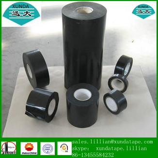 3 ply steel pe anticorrosion tape for special section tube