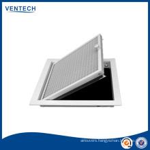 hvac system ceiling eggcrate heating grills