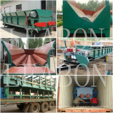 Taux d'ébullition des arbres> 95% Machines à bois10-15 tonnes par heure Lb-Z700 Équipement de traitement du bois à un seul rouleau Débogueur de bois