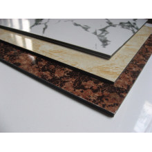 Special Color Wood Stone Marble Grain Silver Golden Mirror Series Brushed ACP Wall Cladding Panels Aluminum Composite Panel