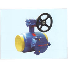 Gear Operated Fully Welded Strainer Ball Valve