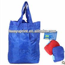 Customize t-shirt bag with printing for Nylon bag & Cute gift reusable nylon bag & Different nylon bag