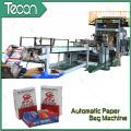 Machine de sac de ciment haute technologie avec système de redressement de déviation automatique