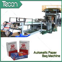 Saco de papel de economia de energia automático que faz a máquina com impressão de Flexo