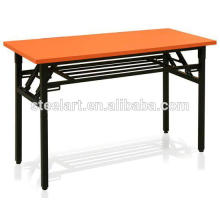 Folding study table and chair for adult and university students usage