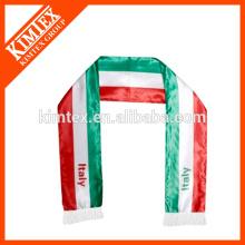 Mens 100% polyester custom wholesale scarf