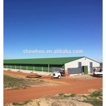 steel structure shed design low cost steel poultry shed for chicken and pig