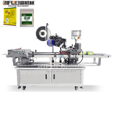 Automatic paging labeling machine for bag cards box