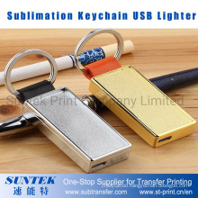 Sublimation Keychain USB Lighter