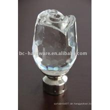 Kristallvorhang finial