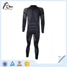 Ensembles de sous-vêtements thermiques de vêtements sans couture de haute qualité d'homme