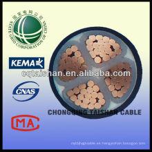 Cable de alimentación flexible del pvc de la rejilla del estado