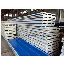 Пеногасящий огнеупорный строительный материал PU Sanwich Panel Price