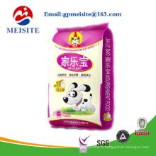 Petite sacoche MOQ Printing Plastic Zipper Pet Food Package / Ziplock Plastic Pet Food Bag