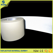EN471 Silver Cotton Fire Retardant Reflective fabric Tape for Uniform or Firefighters' Clothing