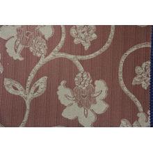 Tela de tapicería jacquard de encargo de la última moda de la última flor de la venta caliente hecha de 100% poliéster con variante colorways