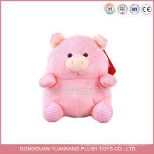 popular designs hotsale products monkey pig animal plush toys custom made