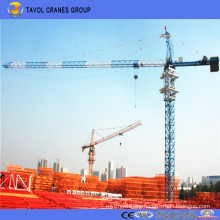 China 16t Tower Crane 70m Jib with 4.0t Tip Load Qtz160-7040 Tower Crane