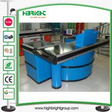 Supermercado mostrador expreso, mostrador de caja, caja registradora, caja registradora