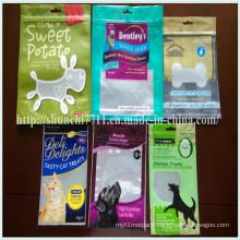 Stand up Zipper Pet Food Packaging Bag