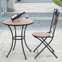 mosaic art bistro table set