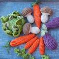 Hot Fashion Knitting Crochet Toys Verduras para bebés