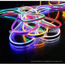Venda quente 110 V / 220 V 120 leds / m RGB SMD 2835 5050 Flex macio led neon corda de barra de luz bar