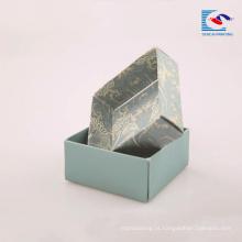 Caixa de papelão de papelão diretamente durável da fábrica para embalagens de sabonetes artesanais