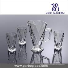 Nouveau design de haute qualité 7PCS Glassware Drinking Set