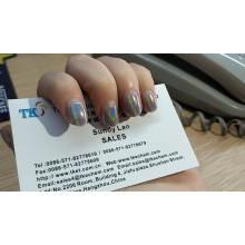 Kostenlose Probe Holographisches Pigmentpulver Holographisches Spektraflairpulver für Autolack und Kosmetik