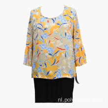 Dames Zomerprint 2020 Fashion Banded Blouses