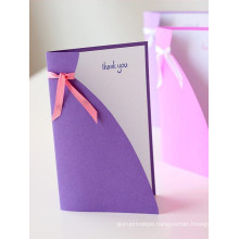 Customized Cmyk Printed Greeting Card, Support DIY